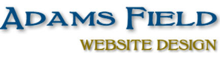 Adams Field Website Design Yeovil